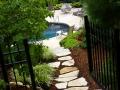 Walkway-pool